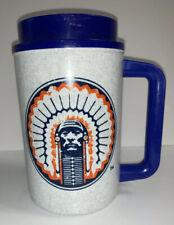 Illinois Fighting Illini Chief Illiniwek Plastic Mug Cup Vintage No Lid Whirley