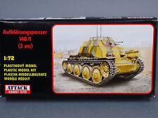 1/72 Attack Hobby Kits  Aufklärungspanzer 140/1  2 CM TANK   Model Kit #d2