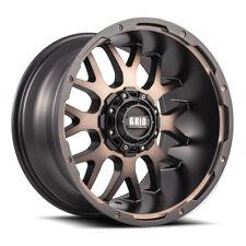 20x10 Grid Offroad Gd02 Matte Bronze Wheels 6x135 6x1397 25 108 Set Of 4 Fits 2004 Toyota Tundra