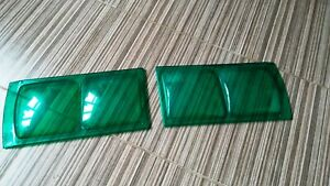 Protection for Lada 2103 2106 1600 headlights, Soviet tuning. GREEN 2pc.