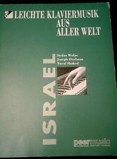 Israel, Leichte Klaviermusik Aus Aller Welt, Wolpe Dorfman, Shaked M-2