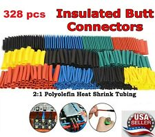 21 Heat Shrink Tubing 328pcs Polyolefin Cable Sleeve Electric Insulation Set Us