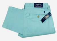 Polo Ralph Lauren Men's Stretch Straight Fit Chinos In Tiki Green