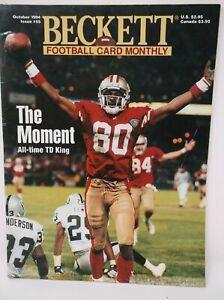 Beckett Football Card Monthly October 1994 Issue #55