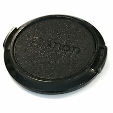 OEM vintage 1980s Canon SLR Camera Snap-On Front Lens Protector Cap 52mm