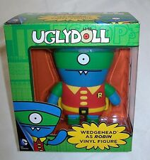 "FUNKO UGLYDOLL 4½"" (11.5cm) Vinyl Figure WEDGEHEAD as ROBIN"
