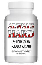 """Always Hard"" - Natural Strong Herbal Sex Pills for Men 30 Pills Bottle USA"