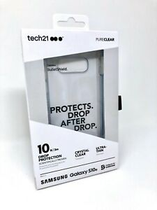 NEW Authentic Tech21 Pure Clear Case for Samsung Galaxy S10e - PURE CLEAR