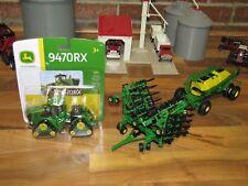 1/64 ERTL JOHN DEERE AIR SEEDER SET w/ John Deere 9470RX 4WD Tractor