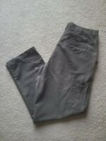 Columbia Granite Cloth Hiking Pants Olive Green Cotton Blend 38x32