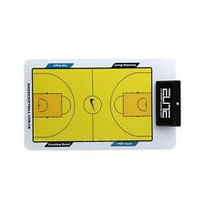 Basketball Tactic Coaches Erase Play Board Double Erasable Sided Coaching w/ Pen