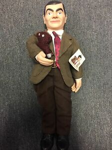"""Mr Bean Rowan Atkinson Doll Figure Made In 1997 - 21"""" - Preowned With Tag Rare"""