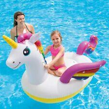 Materassino Unicorno Gonfiabile Galleggiante Gigante Mare piscina 198 x 140 x 97