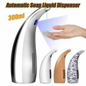Liquid Soap Dispenser Automatic Induction Foam Washing Infrared Sensor 300ml New
