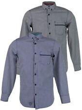 Camicie casual e maglie da uomo nero a scacchi, quadretti