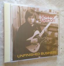DANNY GATTON CD UNFINISHED BUSINESS POW-118 2004 ROCK/BLUES