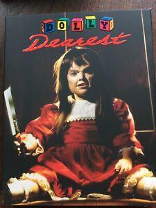 Dolly Dearest Blu Ray. Dvd W/ Slip Vinegar Syndrome Reg.free oop
