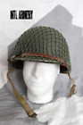 US Army WW2  M1 Helmet Front Seam Fixed Bale Capac Liner