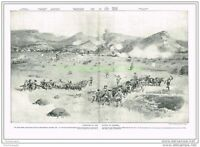 PANORAMA OF THE BATTLE OF COLENSO, BOOK ILLUSTRATION (PRINT), c1900