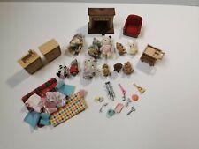 Sylvanian Families Bundle Furniture, Figures and Accessories