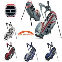 SUN MOUNTAIN 2020 H2NO LITE WATERPROOF DUAL STRAP GOLF STAND CARRY BAG