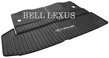 LEXUS OEM FACTORY ALL WEATHER REAR CARGO MAT 2018-2019 RX350L RX450HL (BLACK)