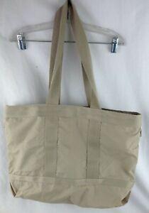 Vintage LeSportsac tote bag tan
