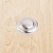 """Kitchen Cabinet Drawer Hardware Knobs kd02 Satin Nickel pulls 1-1/4"""""""
