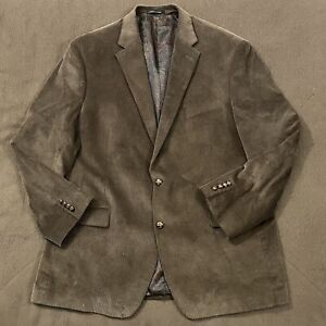 Mens RALPH LAUREN Brown Corduroy Blazer Jacket Sport Coat 48L