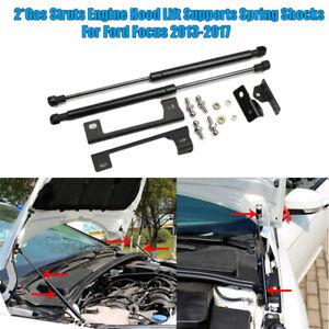 Car Engine Hood Lift Support Shock Struts Damper 2pcs/Set For Ford Focus 2013-17