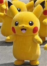 Brand New Pikachu Adult Mascot Costume Halloween Party Pokemon Go Cosplay 52965