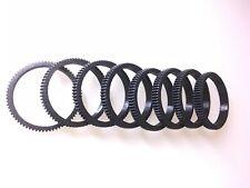 4mm thick/12mm width- Seamless Follow Focus Lens Gear Ring diameter 10-110 mm