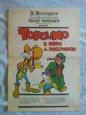 TOPOLINO Il Messaggero di Roma Walt Disney Eta Beta Pippo Mickey Mouse 24 numeri