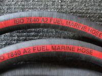 Feuerfest Marine Kraftstoffschlauch ISO7840. 38mm Bohrung X 0.305m (30.5cm) Lang