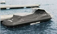 SEA DOO RXT iS Cover 2009 Gray & Black w/ DL New OEM