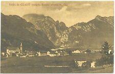 SALUTI DA CLAUT - BORGATA BASOIA (PORDENONE) 1924