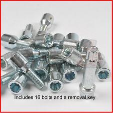 20 * 12x1.75 Tuner Wheel bolts and key fits VOLVO V70 97-00 1.75mm M12x1.75
