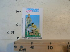 STICKER,DECAL STANDAARD TOF STRIPS BESSY NATUURKOMMAND 1987 STANDAARD UITGEVER A