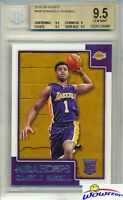 2015/2016 Panini Hoops #265 D'Angelo Russell ROOKIE BGS 9.5 GEM MINT Lakers