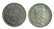 s305) FRANCIA - Luigi Filippo I (1830-1848) - 5 Franchi 1831 B