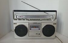 VINTAGE SONY CFS-45L Boombox Stereo Registratore a cassette-radio