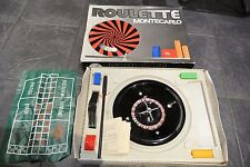 Vintage MONTE CARLO ROULETTE Set by Art 1801 made in Italy
