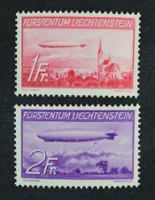 CKStamps: Liechtenstein Stamps Collection Scott#C15 C16 Mint H OG