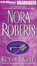 Key Trilogy, Vol.1, Key of Light  - by Nora Roberts - (2003 Cassette)