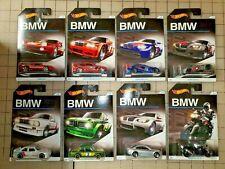 Hot Wheels 2015 BMW Series Anniversary Set Of 8 Cars