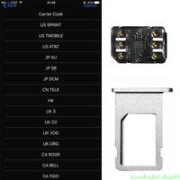 Unlock Turbo Sim Card For iPhone X 8 7 6S 6 Plus + 5S SE 5 LTE iOS 11 Universal