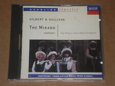 GILBERT & SULLIVAN - THE MIKADO HIGHLIGHTS - CD COME NUOVO (MINT)