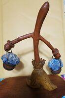 "FANTASIA Disney RARE Broom w/Buckets Figure/Figurine 9.5"" Tall"