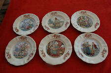 * Assiette Sarreguemines - Ma Normandie - Lot de 6 assiettes