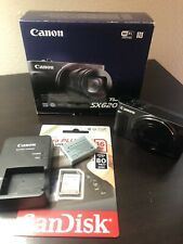 Canon PowerShot SX620 Camera. Includes Battery, Charger, And 16GB memory Card